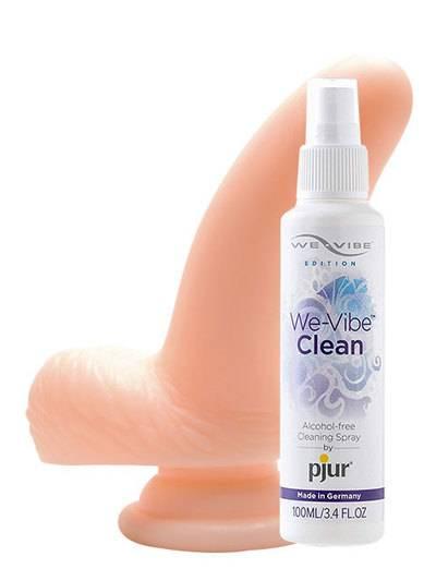 激ピタ ソフティー S+We-vibe Clean(ウィーバイブ クリーン) 100mlセット