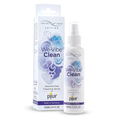 Gとパールの女王+We-vibe Clean(ウィーバイブ クリーン) 100mlセット