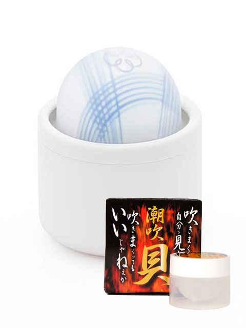 iroha MIZU-TEMARI 水手毬(みずてまり)+潮吹貝(しおふきがい)セット