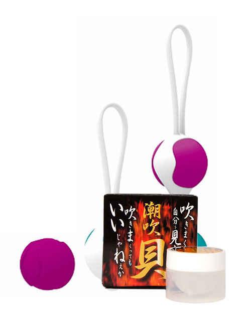 プリティラブ シリコンケーゲルボール エキササイズキット+潮吹貝(しおふきがい)セット