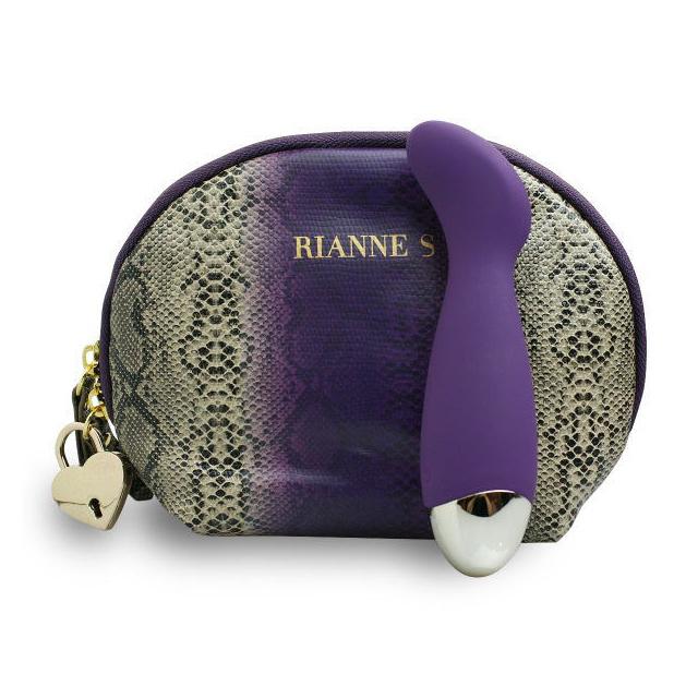 Rianne S(ライアン エス)  ボアミニG ディープパープル+潮吹貝(しおふきがい)セット