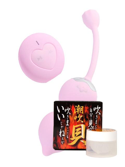 OTOUCH LOTUS ピンク(オータッチ ロータス)+潮吹貝(しおふきがい)セット