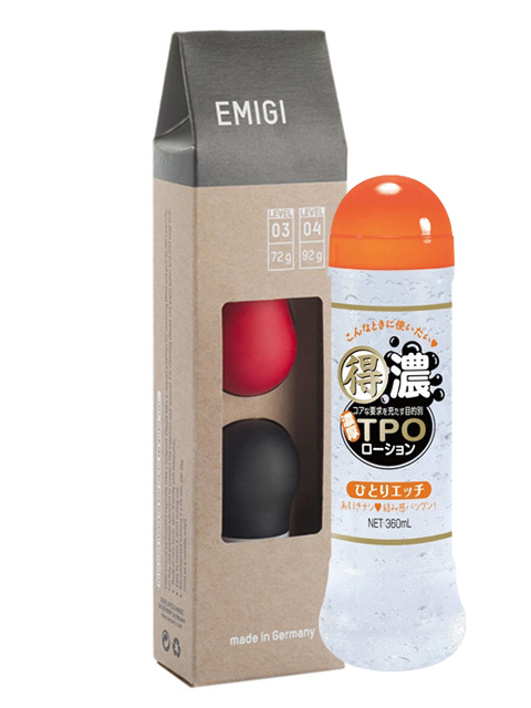 EMIGI(エミギ) ラブパール ヘビーセット level 03+04+得濃TPOローション ひとりエッチ 360mlセット